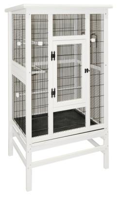 Kerbl Vogelvoliere aus Holz 82 x 67 x 151 cm