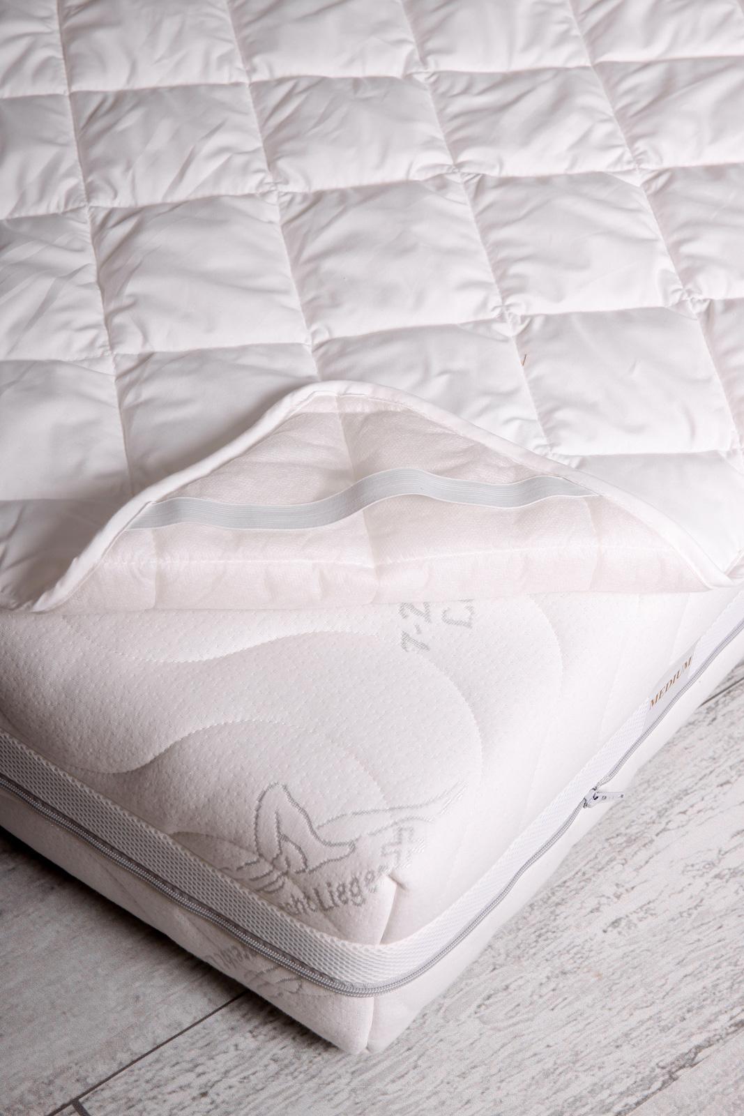 Unterbett / Matratzenauflage Serie Moon für Matratzen / Wasserbetten
