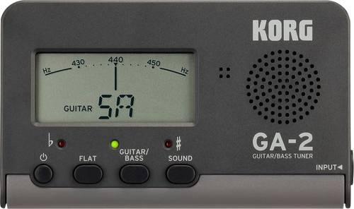 KORG GA2 Gitarrenstimmgerät Schwarz