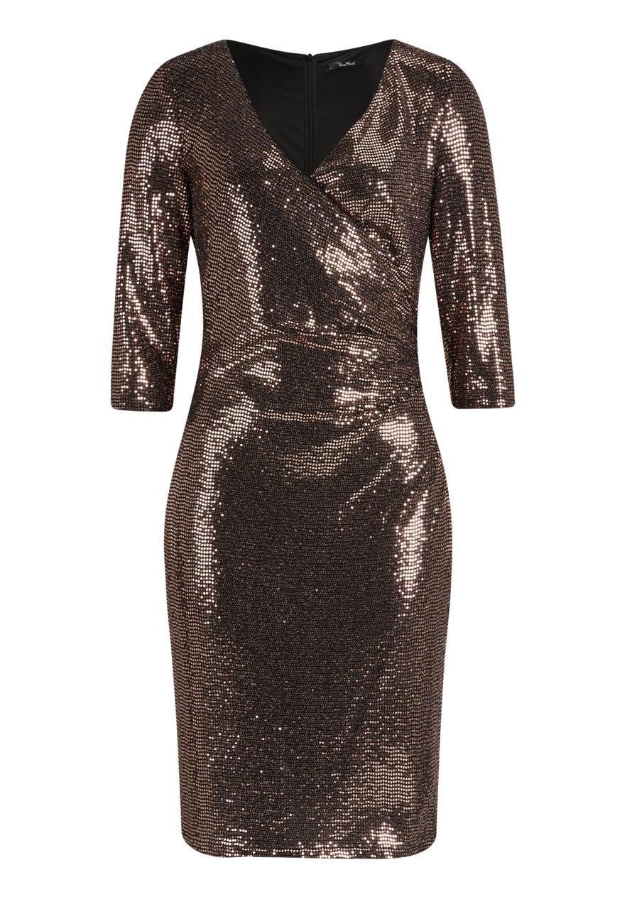 Vera Mont Vera Mont Abendkleid , Black/Rosé in Größe 36