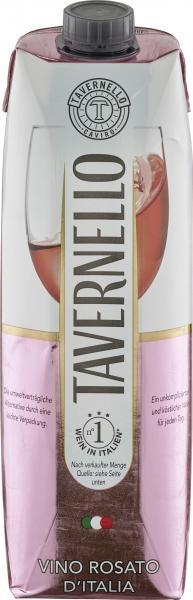Tavernello Vino Rosato Roséwein halbtrocken
