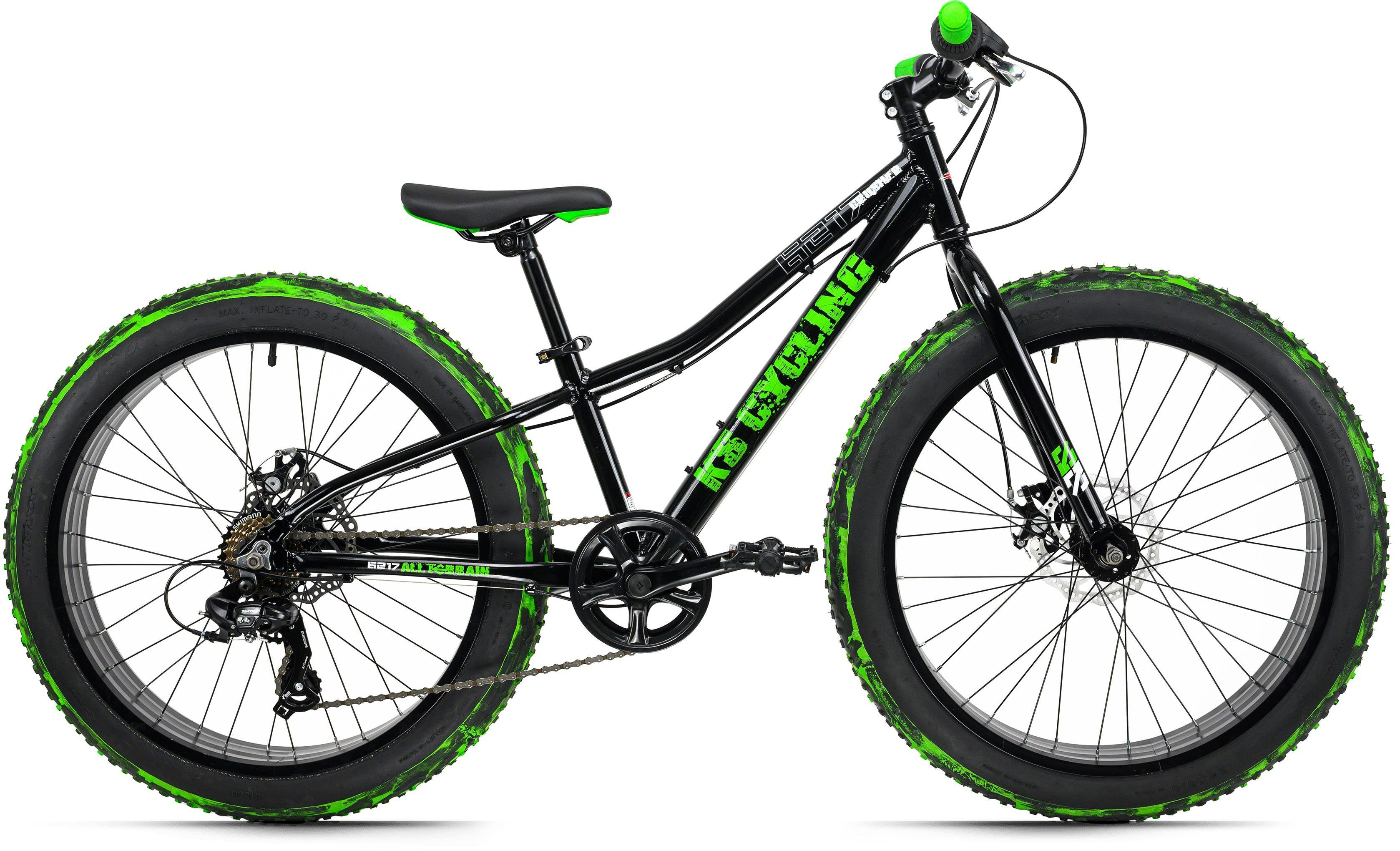 KS Cycling Fatbike Crusher 6217, 7 Gang, Shimano, Tourney Schaltwerk, Kettenschaltung