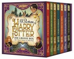 Harry Potter. Die große Box. Alle 7 Bände, 14 MP3-CDs