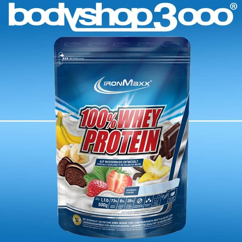 Ironmaxx - 100% Whey Protein (500g)