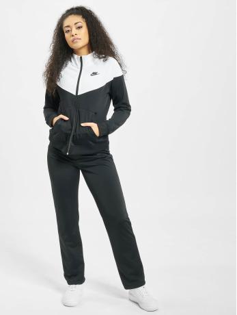 Nike Frauen Anzug Track Suit in schwarz