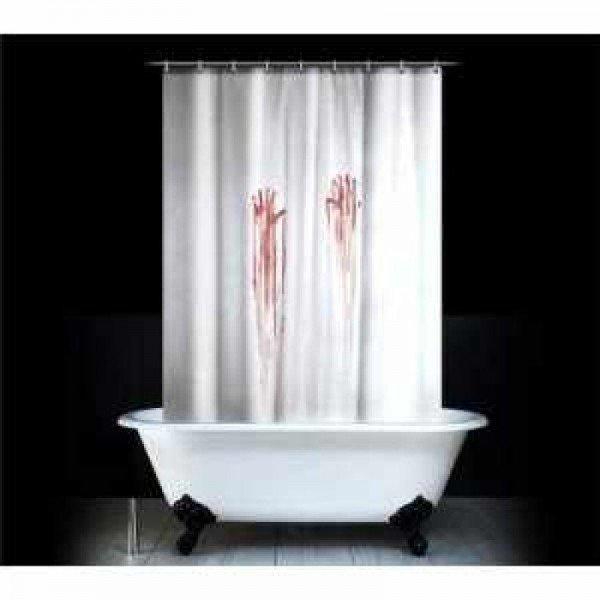 Unheimlicher Duschvorhang