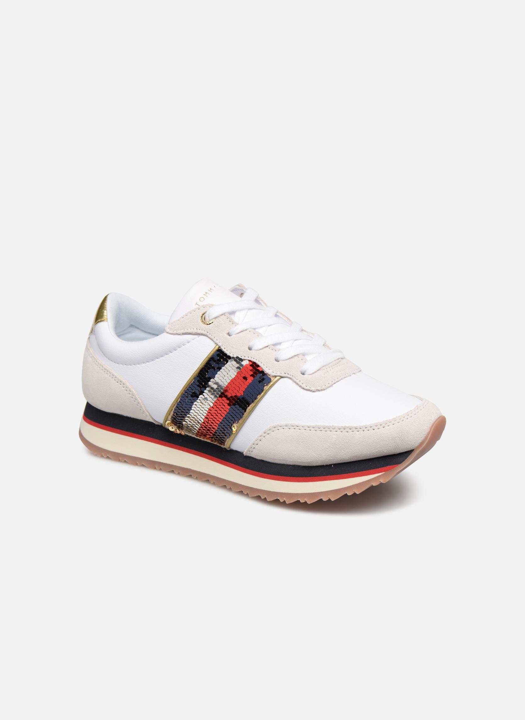 Tommy Hilfiger - TOMMY SEQUINS RETRO RUNNER - Sneaker für Damen / mehrfarbig