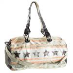 Stars & Stripes Canvas Handtasche, Sport &. Reisetasche