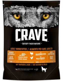 Crave Hundefutter mit Truthahn & Huhn