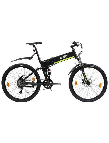 E-Bike Mountainbike »FML-830«, 27,5', 9-Gang, 10.4 Ah