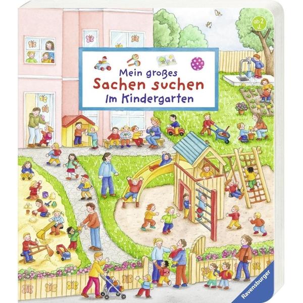 Ravensburger - Mein großes Sachen suchen: Im Kindergarten