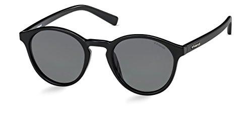 Demel Augenoptik Polaroid Sonnenbrille für Damen und Herren – Polarisierte Gläser mit UV400-Schutz – Inklusive Einsteck-Etui und Mikrofasertuch Modell: PLD 1013/S (D28Y2, 50)
