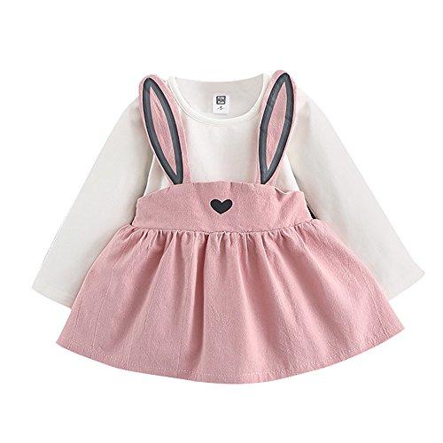 Babykleidung Mädchen Sommer 2019 Covermason Kleinkind Kinder Baby Mädchen Hase Druck Kleid Beiläufig Prinzessin Kleid Party Kleid Sonne Kleid