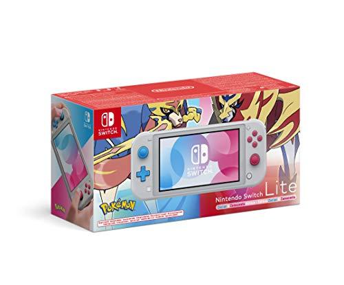 Nintendo Switch Lite - Zacian & Zamazenta Edition  (Limited Edition, grau)