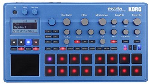 Korg Electribe 2 blau | polyphoner Synthesizer m. Step-Sequencer | NEU