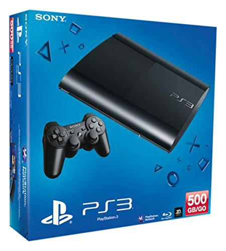 PlayStation 3 - Konsole Super Slim 500 GB (inkl. DualShock 3 Wireless Controller)