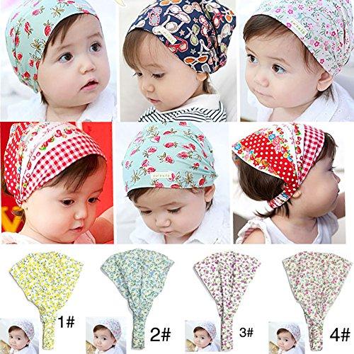 Tukistore Stirnbänder für Kinder - Breite Stirnbänder - Haarschmuck für Kinder, Kindermode Stretchy Wide Stirnband Kopf Turban Stirnband Bandanas