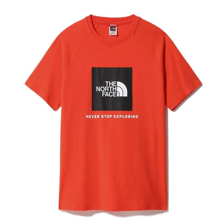 The North Face Rag Red Box Tee - Gr. L Flare