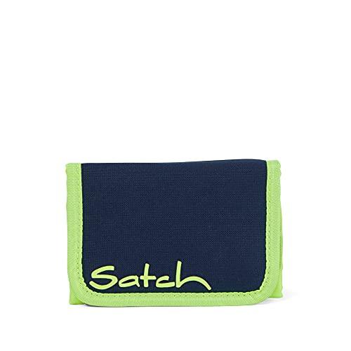 Satch Wallet Geldbörse, Unisex, für Kinder, Mehrfarbig (Toxic Yellow)