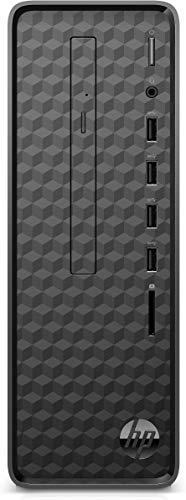 HP Slim S01-aF0304ng Desktop PC (AMD Athlon 3150U, 8GB DDR4 RAM, 256 GB SSD, AMD Grafik, Windows 10) schwarz