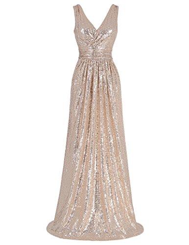 Kate Kasin Abendkleid Damen Lang Brautkleid Homecoming Kleid KK0199-2 48