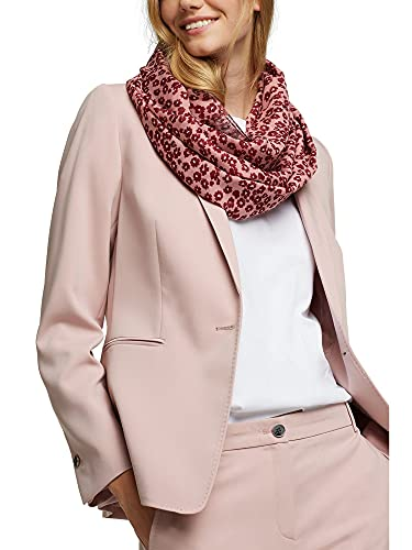 ESPRIT Recycelt: Loop-Schal mit Blumen-Muster