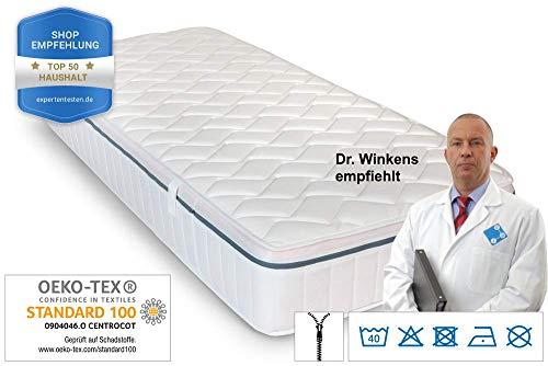 Ortho Relax Matratze, 23cm Höhe, H3, 7-Zonen-Spezial-Komfortschaum-Matratze, patentierte Luftkanaltechnik (140x200) mit KB