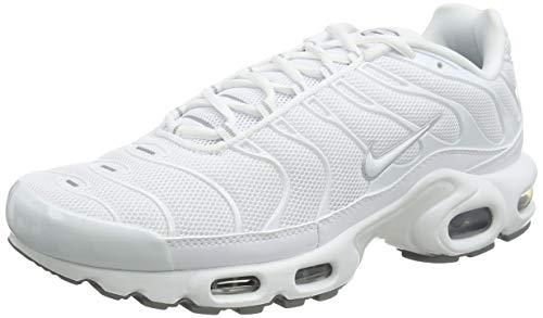 Nike Air max Plus - Laufschuhe, Herren, Farbe Weiß (White/White-Black-cool Grey), Größe 41