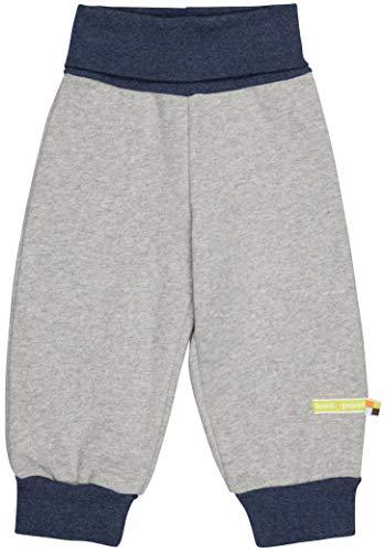 loud + proud Jungen Sweat Uni Aus Bio Baumwolle, GOTS Zertifiziert Hose, Grau (Grey Gr), 92 (Herstellergröße: 86/92)