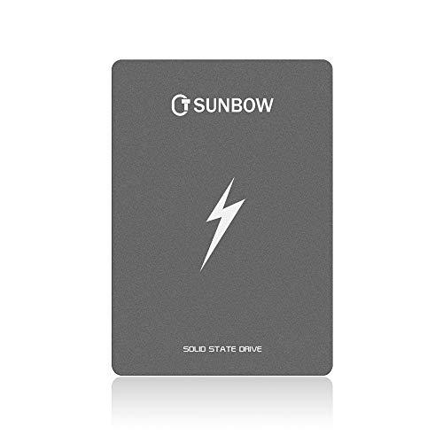TCSUNBOW 120 GB 128 GB 2,5 Zoll SSD SATAIII 6 GB/s Interne Solid State Festplatte für Notebook Tablet Desktop PC (X3 120 GB)