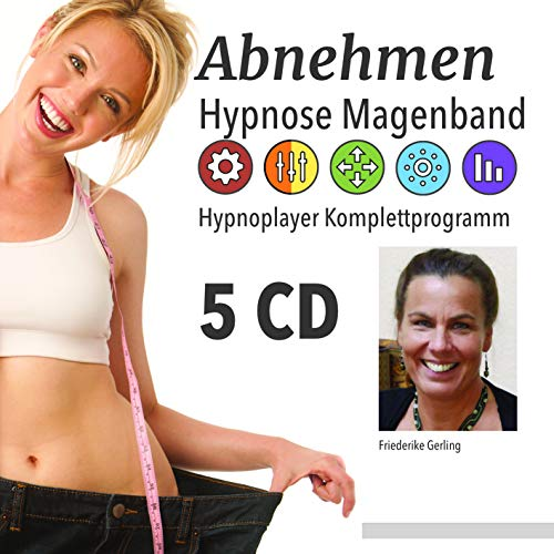 Modulares Abnehmprogramm - Abnehmen mit Hypnose - Hypnoplayer CD-Set für ein Jahr