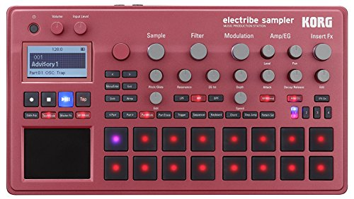 Electribe Sampler Red Music Production Station
