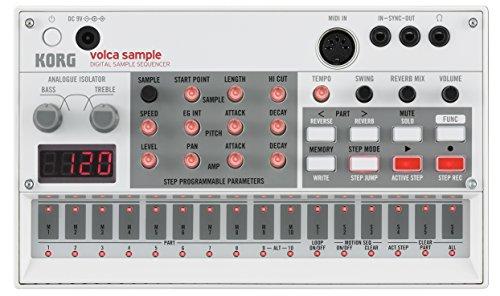 Korg VOLCA SAMPL Digital Sample Sequencer