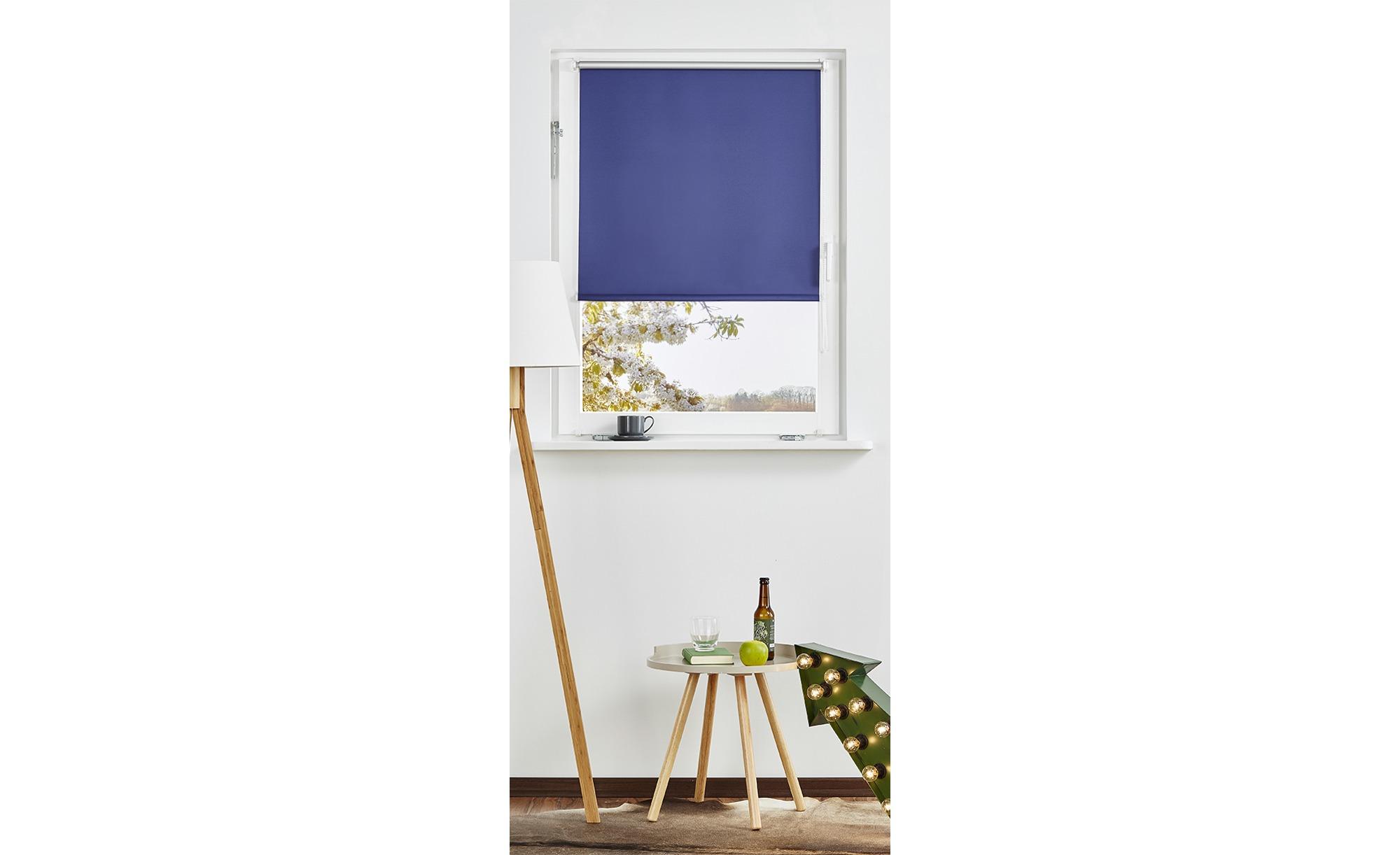Rollo Klemmfix ¦ blau ¦ 100% Polyester Gardinen & Vorhänge > Rollos & Sonnenschutz > Rollos - Höffner