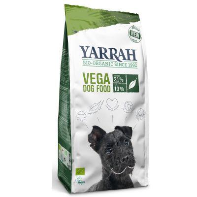 Yarrah Bio Hundefutter + 2 x 3 Yarrah Sticks gratis - Ökologisches Hundefutter mit Huhn & Getreide (15 kg)