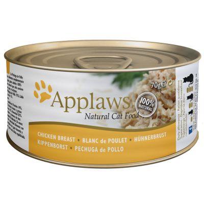 Applaws Katzenfutter in Brühe 6 x 70 g - Thunfischfilet