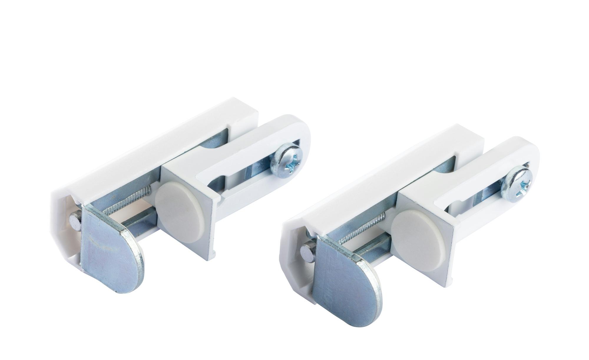 Klemmträger für Doppelrollo / Faltstore - Kunststoff - Gardinen & Vorhänge ></noscript> Rollos & Sonnenschutz > Rollo Zubehör - Möbel Kraft