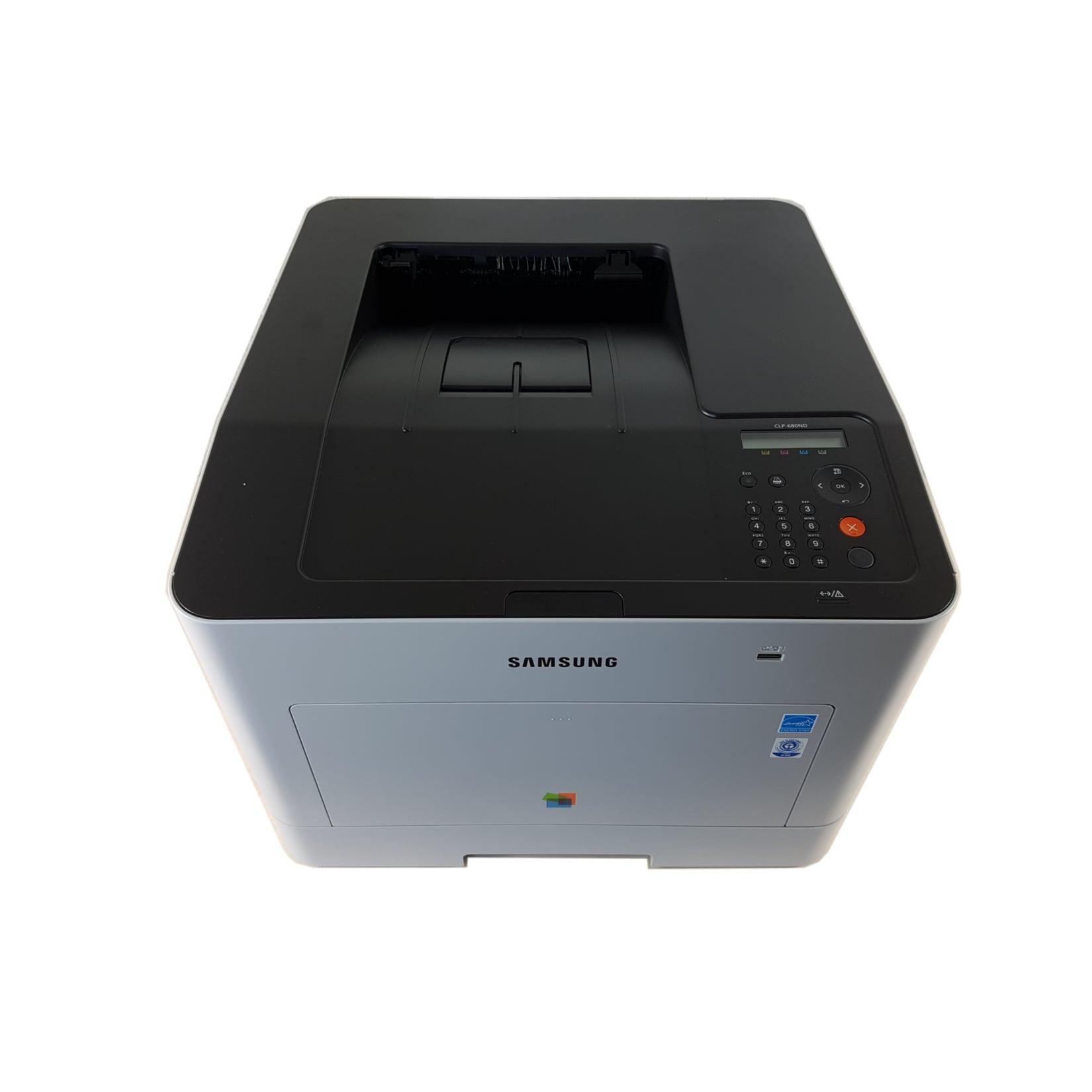 Samsung CLP-680ND Laserdrucker, Farbe, 9600 x 600 DPI, A4, 250 Blätter, 24 Seiten pro Minute