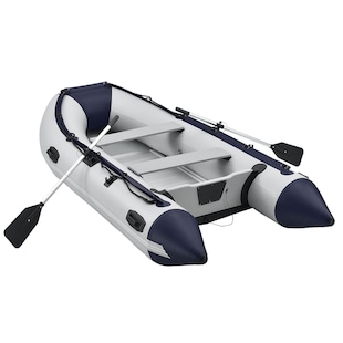 ArtSport Schlauchboot 3,20m mit 2 Sitzbänke, Aluboden, Paddel, Pumpe, Tasche & Reparaturset