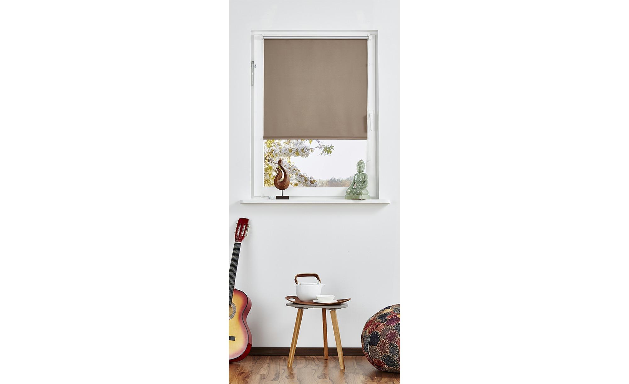 Rollo Klemmfix - grau - Polyester - 45 cm - Sconto