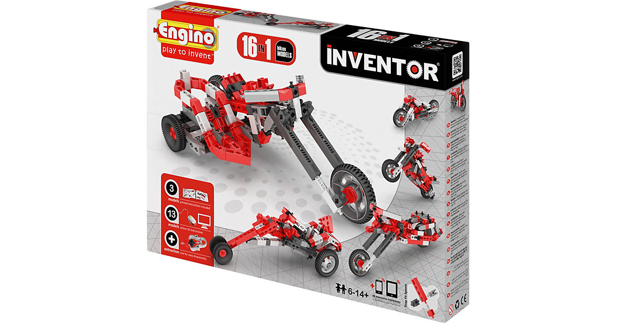 Engino INVENTOR 16 Bikes