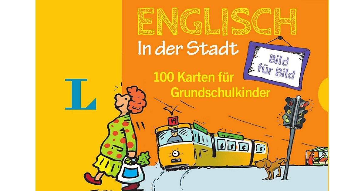 Buch - Langenscheidt Englisch Bild Bild in der Stadt - Sprachanfänger  Kinder