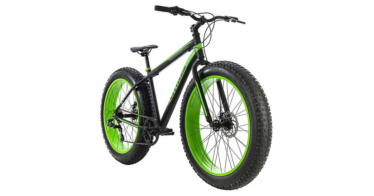 Mountainbike MTB Fatbike Fat-XTR Mountainbikes, Rahmenhöhe: 46 cm schwarz Gr. 26