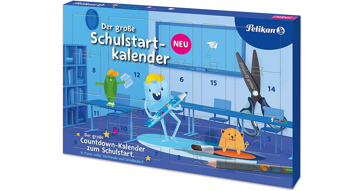 Der große Schulstartkalender 2021 - 15 Türchen bis zum 1. Schultag bunt