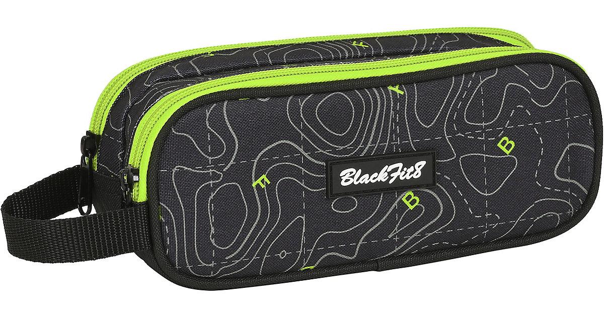 EXKLUSIV Etuibox Blackfit8 Neon, unbefüllt schwarz