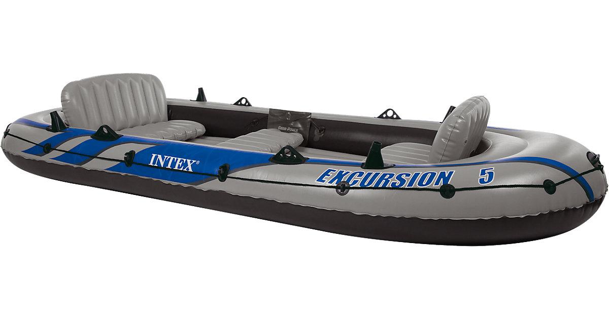 Schlauchboot Excursion 5 Set, 4-tlg. grau