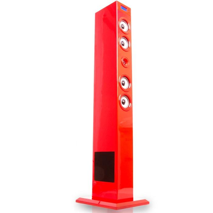 Sound Musikturm Soundtower Dockingstation Ipod Iphone USB rot BigBen Glossy Red