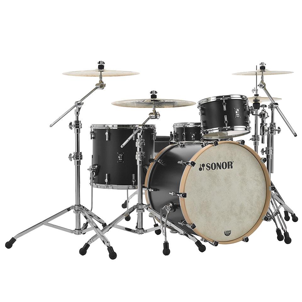 Sonor SQ1 22'/12'/16' GT Black Schlagzeug