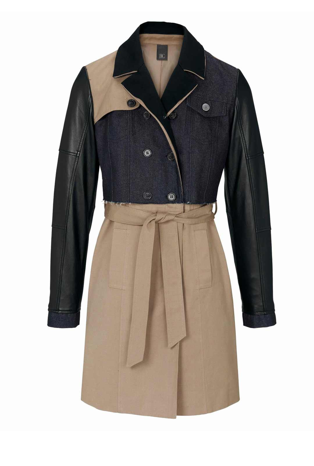 Damen Trenchcoat Beige Schwarz Mantel Damen Kurzmantel Damen Frühjahr Sommer