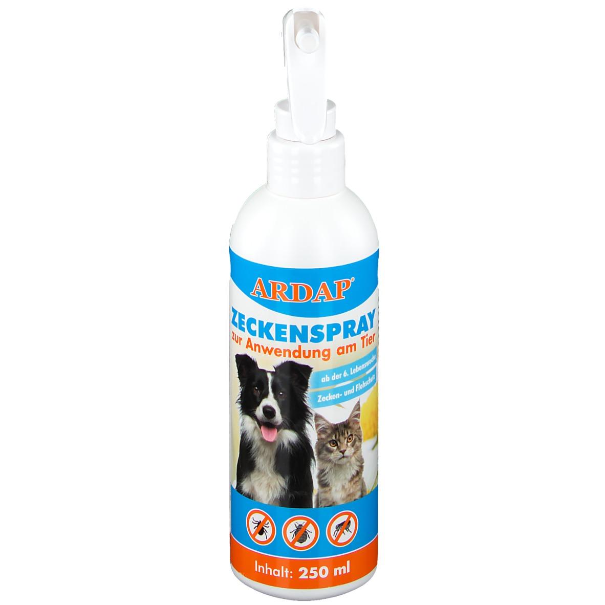 Ardap® Zeckenspray zur Anwendung am Tier